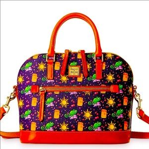 NWT Disney dooney and bourke Tangled satchel